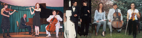 trio string quartet weddings